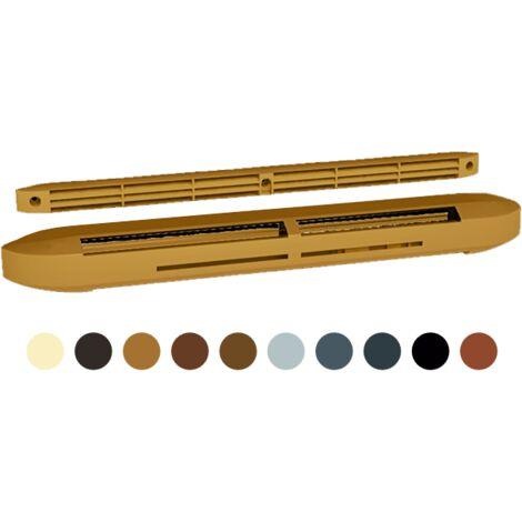 Kits entrée d'air hygroréglable acoustique couleur ISOLA HY