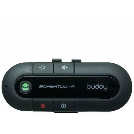 Kits mains libres bluetooth voiture Supertooth Buddy + chargeur voiture
