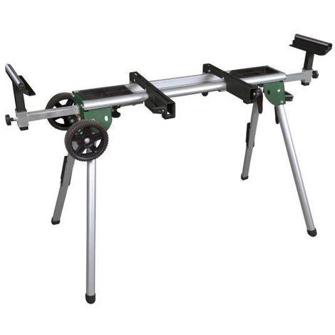 KITY Support réglable aluminium TU150 - Pour scie a onglet - Capacité max : 250 kg