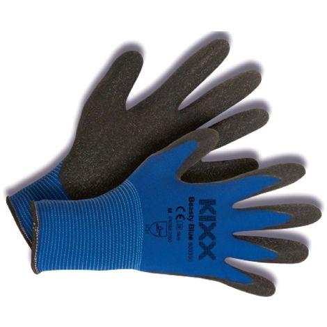 Kixx Color Line Arbeitshandschuhe, Blau/Schwarz