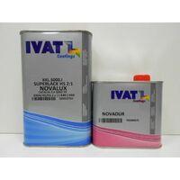 Kkl5000 vernice trasparente acrilico bicomponente ivat + catalizzatore lt 1+0,5