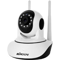 Kkmoon 1080P Sans Fil Wifi Pan Tilt Hd Camera Ip 2.0Mp 1 / 2.7¡± Cmos 3.6Mm Ptz Deux Voies Audio Vision Nocturne Eu Plug