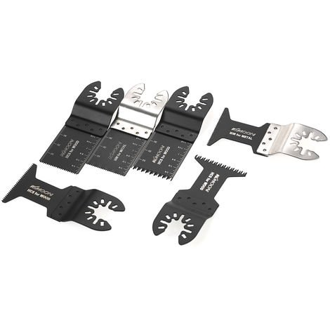 Kkmoon 20Pcs Oscillant Multi Tool Saw Web Pour Fein Multimaster Makita Bosch Rockwell Sonicrafter Worx Multitool Accessoires