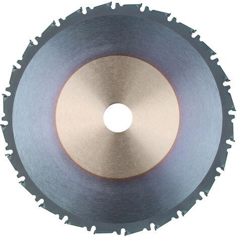 """main image of """"KKmoon 210 * 1.8 * 25.4 * 24T Hoja de sierra de carpintero Herramienta de carpinteria de carburo cementado Carpinteria de 24 dientes Hoja de sierra circular Disco de corte para madera y plastico, Azul"""""""