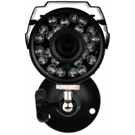 KKmoon? 4pcs AHD 720P Kit de camaras CCTV resistentes a la intemperie, sistema de seguridad para el hogar 3.6 mm