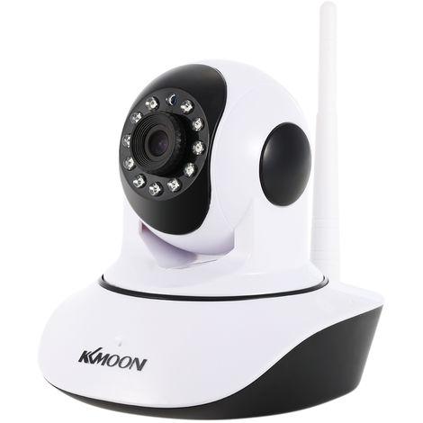 KKmoon, Camara CCTV inalambrica para el hogar 1080P IR HD WIFI para interiores
