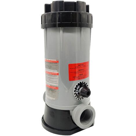 KKmoon Chargeur automatique de produits chimiques avec base amovible de montage Dispositif de dosage electrolyseur pour piscine Spa