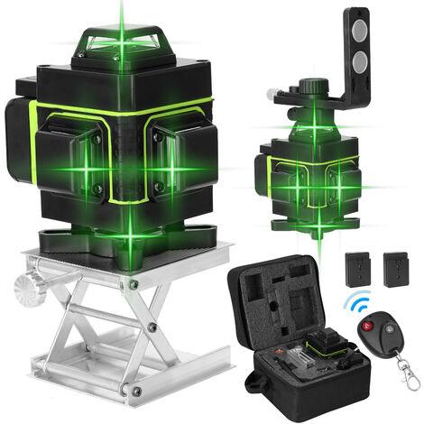 Kkmoon Ecran Multifonction Lcd 16 Lignes Niveau Laser Vertical Outil Horizontal Ligne 3 ¡ã Autonivelant Avec Laserline Luminosite Fonction Reglable