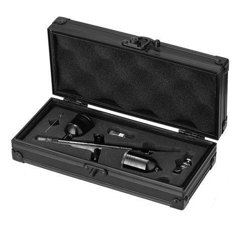 KKmoon, Kit de aerografo de doble accion, Spray disparador de 0.3 mm