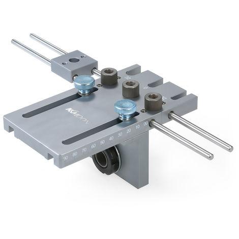 KKmoon, Localizador de punzonado posicionador de perforacion 3 en 1, 6/8 / 10 mm(no se puede enviar a Baleares)