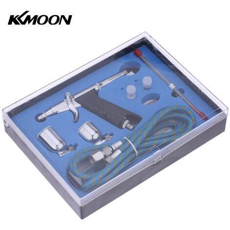 KKmoon pistolet style modele art pulverisation brosse artisanat pulverisation couleur aerographe art spray aerographe ensemble T116K