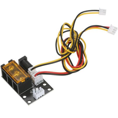 KKmoon Placa adaptadora de modulo laser de 2 pines a 3 pines Placa de conversion de maquina de grabado laser de 3 interfaces con cables de 2 y 3 pines para grabador laser Impresora 3D Fresadora CNC, placa adaptadora