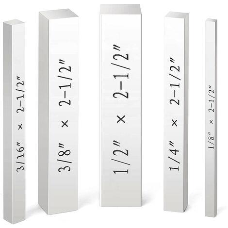 Kkmoon Set-Up Set Blocs De Blocks Jauge De Haute Precision Gravee Taille Marquages ??Machiniste Outil Travail Du Bois Outil De Precision Hauteur Distance Installation