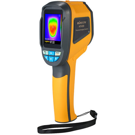 """KKmoon, termometro a infrarossi, schermo a colori da 2,4 """", HT-02D"""