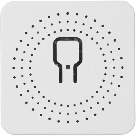 KKmoon Tuya ZigBee3.0 Modulo de interruptor inteligente para el hogar Controlador de interruptor para el hogar MINI Interruptor Control remoto Dispositivo de encendido y apagado de 16 A Compatible con Alexa Asistente de Google para control por voz, Modelo