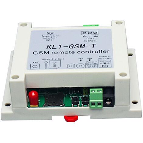 KL1-GSM-T Controlador remoto GSM, rele de encendido / apagado, controlador de acceso de interruptor inteligente