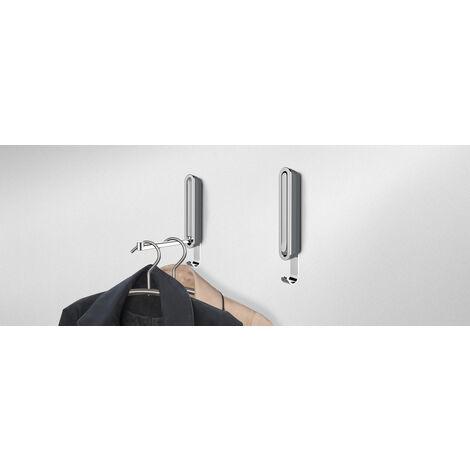 WENKO Klapphaken Premium Sigma Stahlgrau - 50583100