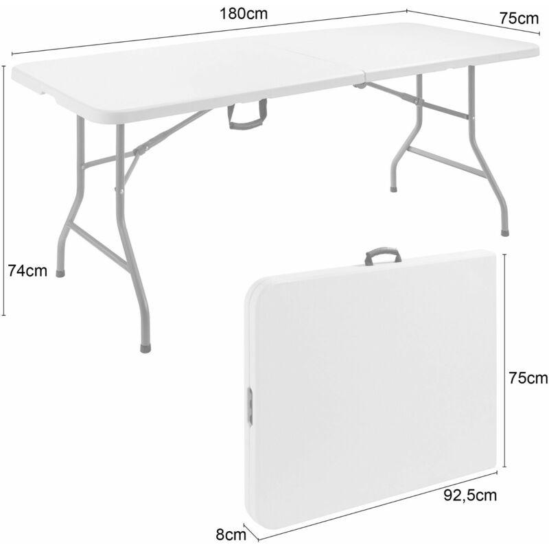 Tisch Klappbar.Klapptisch 180 Cm Buffettisch Gartentisch Esstisch Campingtisch Tisch Klappbar
