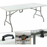 Klapptisch 180 cm - Buffettisch Gartentisch Esstisch Campingtisch Tisch klappbar