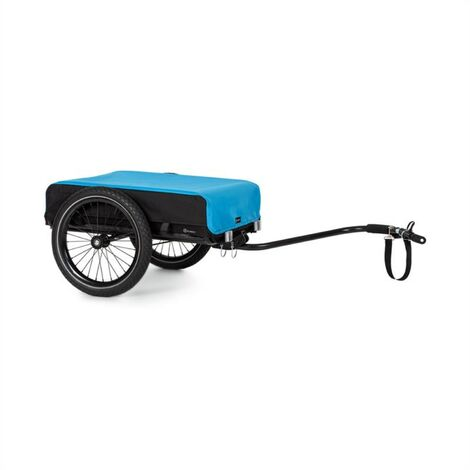 Klarfit Cargo Bull Cargo Trailer 40kg / 50Ltr Bicycle Trailer Pushcart Black