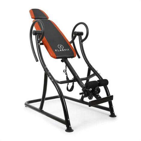 Klarfit Relax Zone Pro Table d'inversion pour exercices du dos