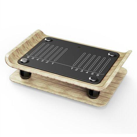 KLARFIT Roomik Shake Vibration Plate 15-55Hz Certified Birch Remote Control