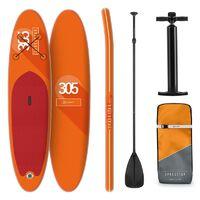 Paddle Spreestar Board Klarfit Orang Gonflable De 305x10x77 Planche Set Sup Cm wPOZkTXiul
