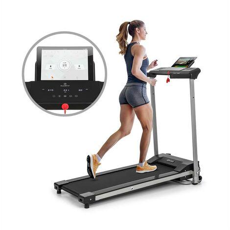 Klarfit Treado Active Tapis de course cardio 10 km/h 12 programmes Bluetooth