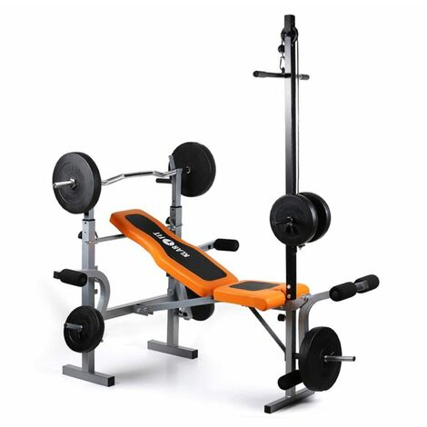 Klarfit Ultimate Gym 3500 Banc d'entraînement Curler