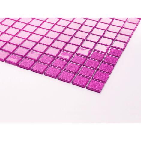 Küche Rosa Glitzereffekt Glanz Glas Mosaik Fliesen Dusche MT0018 Matte Bad