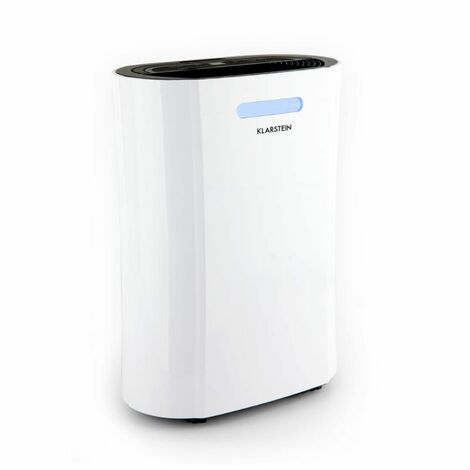 Klarstein AeroDry 10 Deshumidificador DrySelect 65W 10l/d 135m³/h 25m² 37dB Blanco