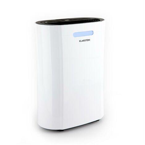 Klarstein AeroDry 10 Luftentfeuchter 265W 10l/d 135m³/h 25m² DrySelect 37dB weiß