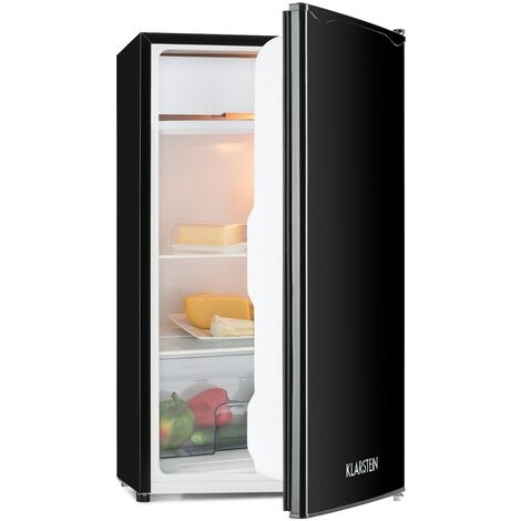 Klarstein Alleinversorger Nevera 90 L Clase A+ 2 bandejas Congelador 7 L negro