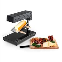 Klarstein Appenzell 2G Traditional Raclette Grill 600 W Floor-mounted Appliance black