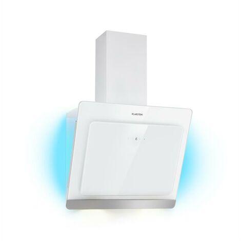 Klarstein Aurora Eco 60 Campana extractora 550 m³/h Display LED Blanco