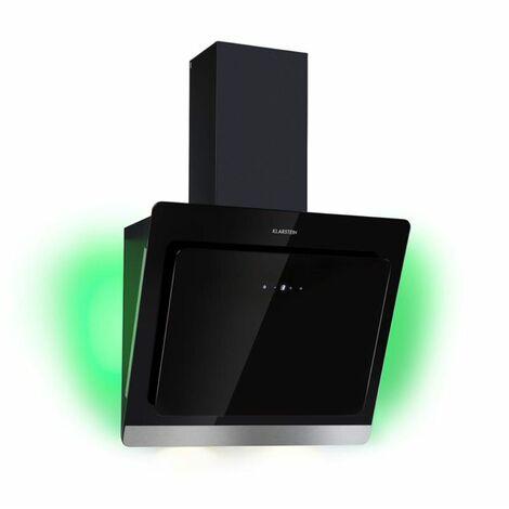 Klarstein Aurora Eco 60 Campana extractora 550 m³/h Display LED Negro