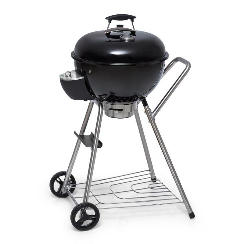 Klarstein - Beef Baron Barbecue boule au charbon de bois thermomètre roulettes