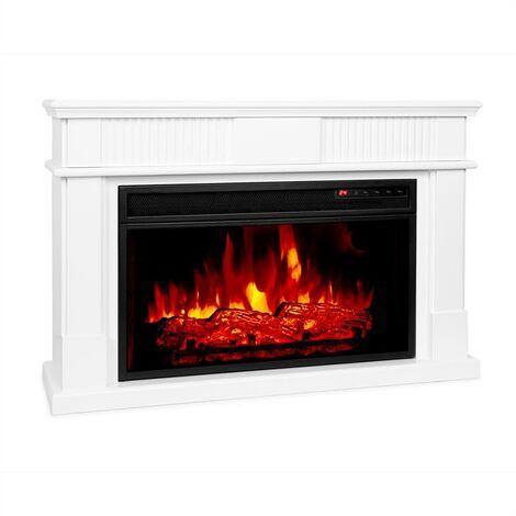 Klarstein Bern Electric Fireplace 1000 / 2000W LED 10-30 ° C Weekly Timer