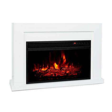 Klarstein Blanca hogar eléctrico 1.000/ 2.000 W LED 10-30 °C temporizador semanal