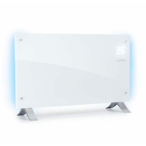 Klarstein Bornholm Curved Ambient Calefactor convector 1000/2000W Blanco