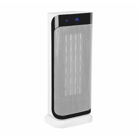 Klarstein Chaval calefacción vertical 2.000 W termostato timer mando a distancia blanco