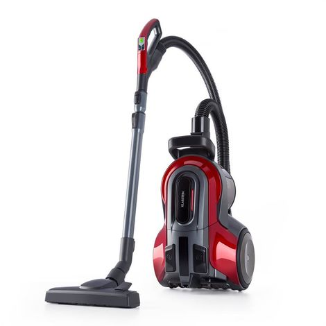 Klarstein Clean King Ergo Aspiradora ciclónica 800W Sin bolsa HEPA13 EEC-A Gris/rojo