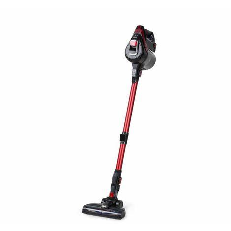Klarstein Cleanbutler 3G Turbo Aspiradora sin cables 0,7 litros HEPA13 Rojo/negro