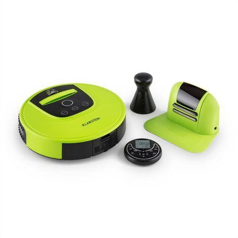 Klarstein Cleanhero Robotic Vacuum Cleaner remote control 2 working speeds green