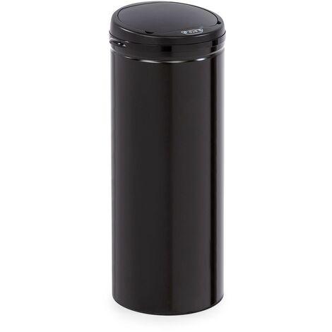Klarstein Cleanton 50 Poubelle 50 litres avec capteur - Couvercle ABS noir