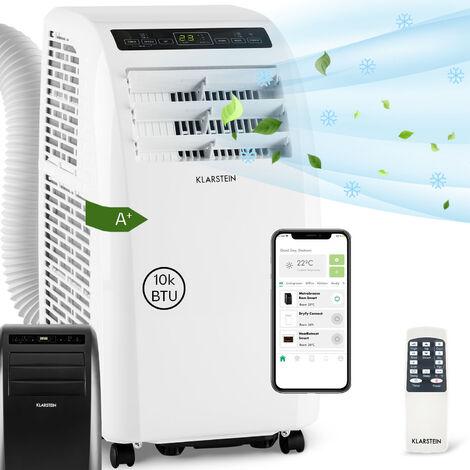 Klarstein Climatiseur mobile Metrobreeze Rom Smart 10 000 BTU / 3,0 kW EEC A+ télécommande