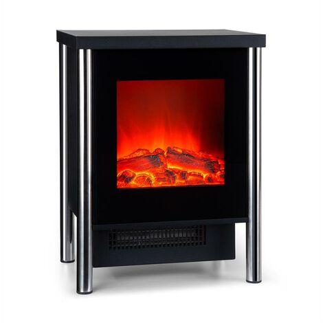 Klarstein Copenhagen Electric Fireplace 950 / 1900W Thermostat Black