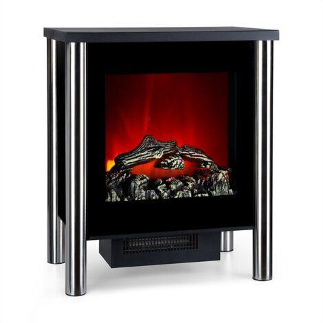Klarstein Copenhagen Electric Fireplace Big 950 / 1900W Thermostat Black