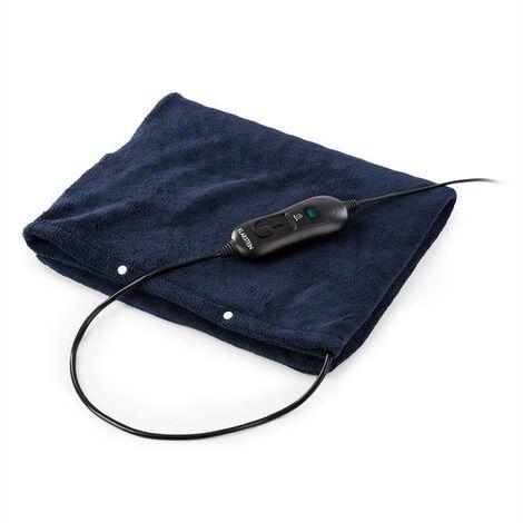 Klarstein Dr. Watson Heatzone L Almohadilla eléctrica 100W 65x40cm Microfelpa Azul oscuro