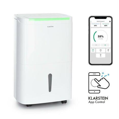 Klarstein DryFy Connect 40 Deshumidificador WiFi Compresión 40l/d 35-45m² Blanco